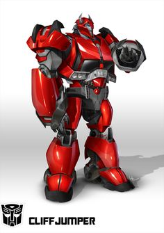 Cliffjumper for Transformers: Prime Color: Augusto Barranco Copyright and TM Hasbro Studios. Transformers Cybertron, Transformers Movie, Transformers Drawing, Transformers Collection, Transformers Characters, Gi Joe, The Rock Dwayne Johnson, Rock Johnson, Hasbro Studios
