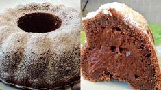 Υγρό κέικ γεμιστό με σοκολάτα και άχνη ζάχαρη! Muffin, Breakfast, Desserts, Beverages, Food, Cakes, Strawberry Shortcake House, Tailgate Desserts, Drinks