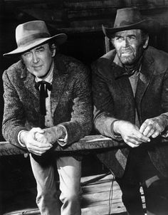 Jimmy Stewart | Henry Fonda...loved most westerns! This one with Henry Fonda is called Cheyenne Social Club. Also stars Shirley Jones and others.