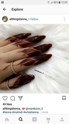 Finger Henna Designs, Henna Art Designs, Mehndi Designs 2018, Modern Mehndi Designs, Mehndi Design Pictures, Wedding Mehndi Designs, Mehndi Designs For Fingers, Beautiful Mehndi Design, Mehndi Images