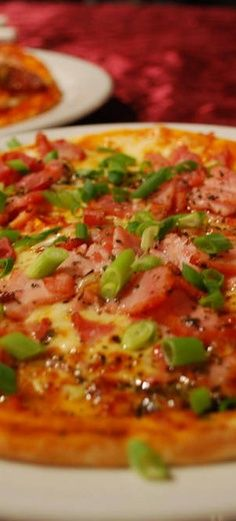 Tomato Bacon Pizza Recipe