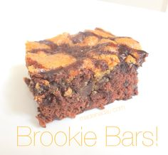 How to make the popular Brookie Bars! Layering Brownies and Cookie dough to make this yummy treat!