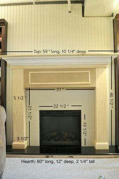 10 Stunning Useful Tips: Large Fireplace Remodel fake fireplace halloween.Fireplace Built Ins Chandeliers tv over fireplace dimensions. Fireplace Surround Diy, Diy Fireplace Mantel, Build A Fireplace, Fireplace Built Ins, Small Fireplace, Farmhouse Fireplace, Fireplace Remodel, Brick Fireplace, Fireplace Surrounds