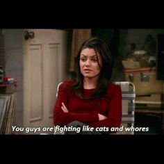 That 70's Show, Jackie #lol #cats
