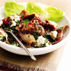 Puy Lentil, Tomato and Feta Salad