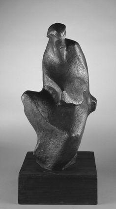 Jakob Savinšek -The template for the monument of Rihard Jakopič(bronze, 1955.)