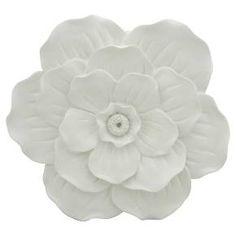 White Flower Wall Décor - Pillowfort™ : Target