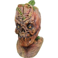 Adult Halloween Mask Pumpkenstein Horror Haunted House Latex Party Accessory New Cool Halloween Masks, Adult Halloween, Halloween Pumpkins, Halloween Costumes, Halloween Horror, Halloween Ideas, Happy Halloween, Diy Costumes For Boys, Toddler Boy Costumes