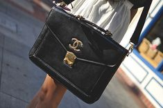 vintage chanel bag LOVE....perfect!!!