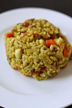 Week of Menus: Japanese Curried Fried Rice: The Bookfair COMETH!!!