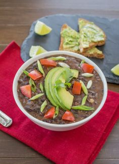 The 8-Minute Black Bean Soup