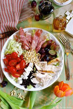 Italian Chopped Chicken Salad with Fennel & Ricotta Salata ciaochowbambina.com