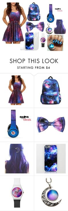 """""""the galaxy"""" by katelynlove01 ❤ liked on Polyvore featuring Beats by Dr. Dre"""