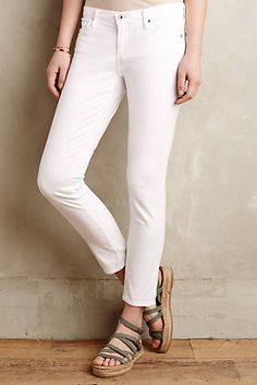 AG Stevie Sateen Ankle Jeans