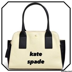 kate spade lydia, southport avenue Tues Special ❤️❤️kate spade lydia, southport avenue♠️❤️. Larger purse is black and cream with two zipper pockets on each side and a magnetic closure across the middle section. 2 large tassels are on each zip closure. kate spade Bags