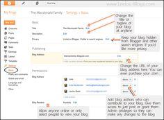 a really helpful blogger dashboard tutorial series