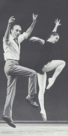 George Balanchine & Suzanne Farrell