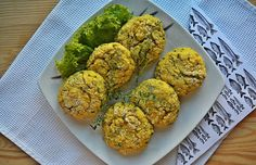 Millet chops with fish and shallots