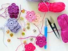 Hair clips - work in progress By Fairyofcolor on Etsy