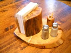 Napkin Holder with a few extras