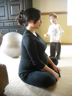 Movements and positions to help get baby into the right position for birth. (Natural Birth in Kitsap)