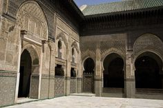 Moroccan Madrasa