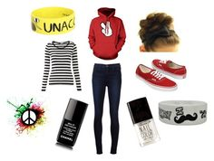Monday by lovepeace97 on Polyvore featuring J Brand, Vans, Goodie Two Sleeves, Chanel, Forever 21, vans, adventuretime and chilled