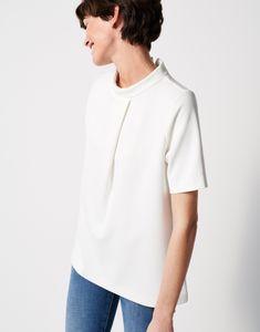 Sweatshirt Ulimo weiß online bestellen   someday Online Shop Elegant, Sweatshirts, Mens Tops, T Shirt, Women, Fashion, Mandarin Collar, Figurine, Classy