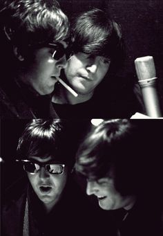 """""""We wrote a lot of stuff together, one on one, eyeball to eyeball…. In those days we absolutely used to write like that — both playing into each other's noses."""" John Lennon """"I was actually working with the great John Lennon, and he with me. It was very exciting."""" Paul McCartney"""