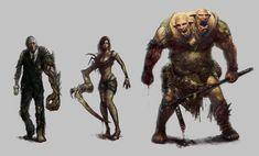 Urban Survivor : Character concepts 1 by TheBastardSon.deviantart.com