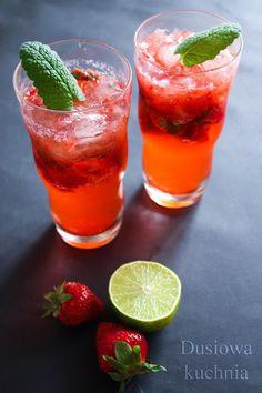 "Wyniki wyszukiwania ""mohito"" - DusiowaKuchnia.pl Strawberry Mojito, Cooking Classes, Smoothies, Food And Drink, Kitchen, Blog, Pineapple, Smoothie, Cooking"