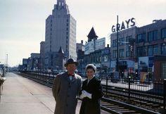 Main Street near Central Avenue, Passaic NJ  1950's