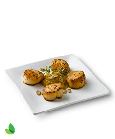 Scallops with Sweet Butternut Squash Recipe with Truvía® Natural Sweetener