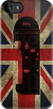 221B Baker Street Sherlock Holmes Door