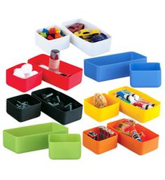 Make drawer organization fun with these Squish Drawer Organizers! They are prefect for organizing your office bathroom closet bedroom or toy room.