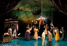 Big night: The Broadway premiere of Finding Neverland was viewed by a host of stars ...
