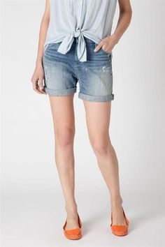 Anthropologie Holding Horses Gable Boyfriend Shorts