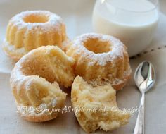 Donuts recipe soft daisy my know-how Cannoli, Italian Desserts, Italian Recipes, Donut Recipes, Dessert Recipes, Cooking Cake, Sugar And Spice, I Love Food, Doughnut
