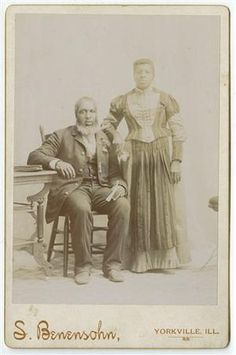 This undated photo from the Abraham Lincoln Presidential Library shows Nathan Hughes who was born a slave but escaped to Illinois and became a soldier in the state's only African-American regiment during the Civil War