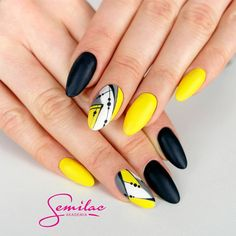 Black & Color Nail Designs picture5