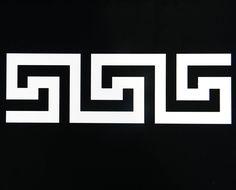 Classic greek pattern