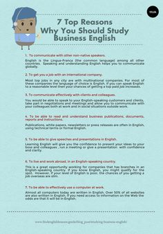 This is why I study #Business #English