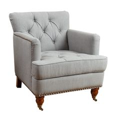 Crabtree Upholstered Arm Chair