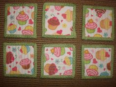 Looking for your next project? You're going to love LBQ's Cupcake Coasters  by designer HoneyBunnyandDoll. - via @Craftsy