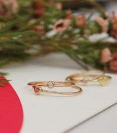 loving delicate rings