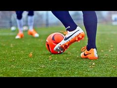 How To Improve Your Weak Foot & Touch - Soccer Football Skills - YouTube