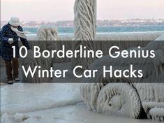 10 Borderline Genius Winter Car Hacks. Einstein level thinking this way...