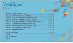 WebQuest, aplicaciones educativas | Con visión pedagógica: Recursos para el profesorado.