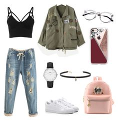 """""""polyvore"""" by jesy-smith on Polyvore featuring mode, Puma, CLUSE, Carbon & Hyde et Casetify"""