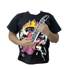 Save $ 11.22 order now 12 Major Chords Electric Rock Guitar T-shirt and Amplifie